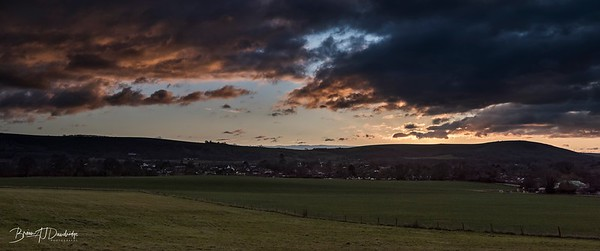 South Downs Sunset_Panorama-1
