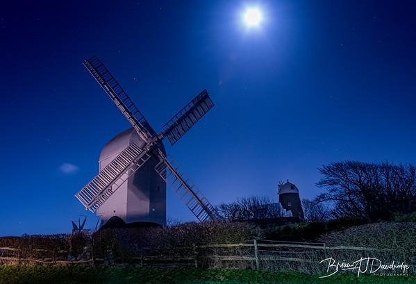 Jack & Jill under a moonlit sky