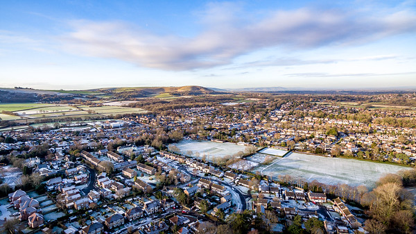 Hassocks from the Air 11