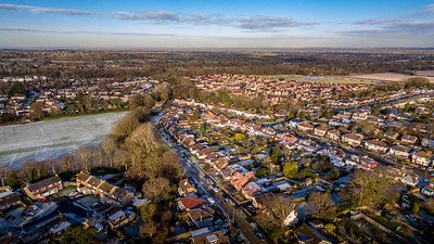 Hassocks from the Air