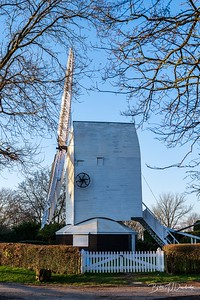 A side-view of Oldland Mill