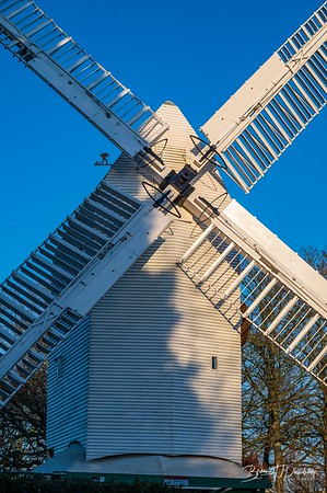 Close-up of Oldland Mill