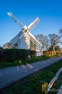 Oldland Mill on a late winter's afternoon