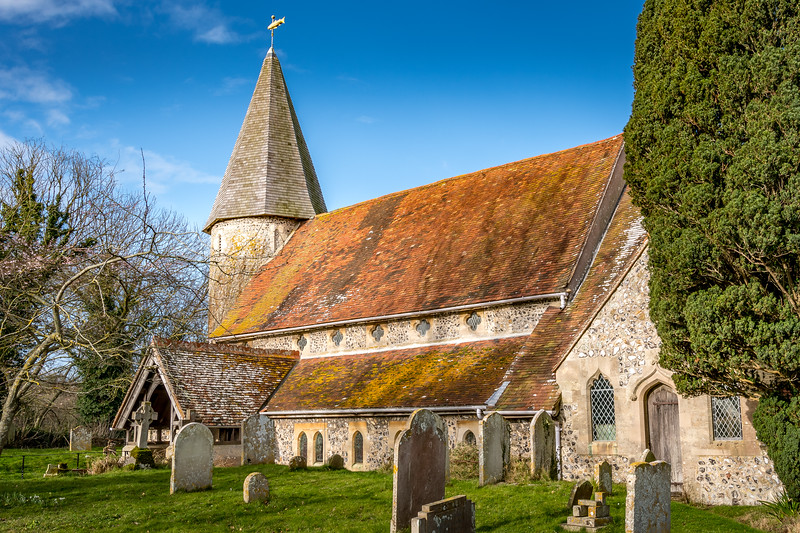 The Parish Church of St. John, Piddinghoe