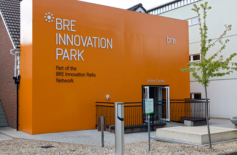 British Research Establishment Innovation Park entrance