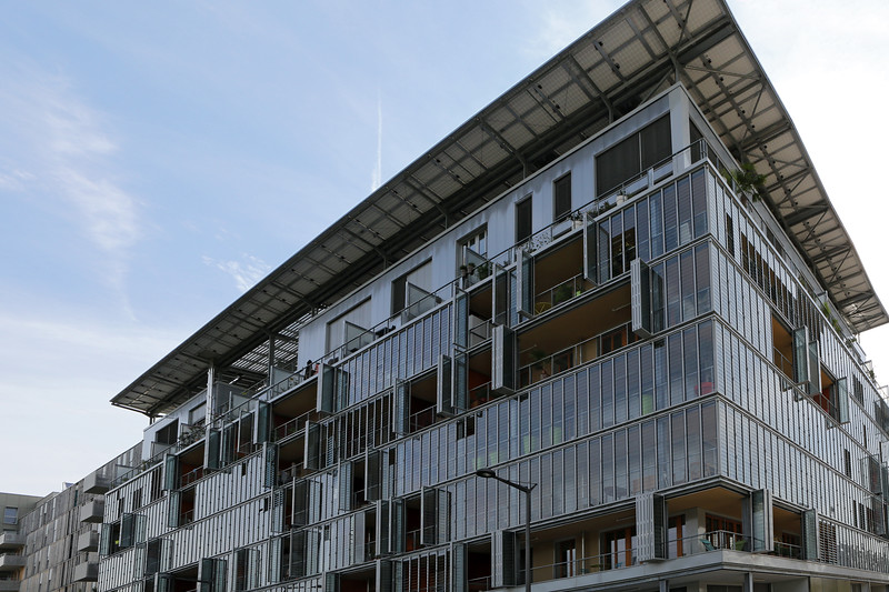Ecocity development in Lyon, France