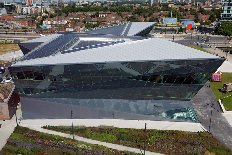 The Crystal - Siemens' Sustainable Cities initiative and museum - in London
