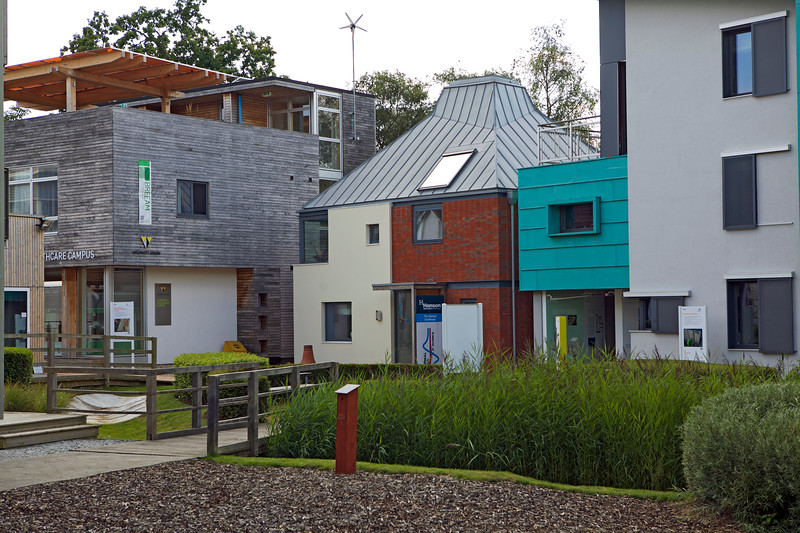 Hanson EcoHouse in the BRE Innovation Park in Watford