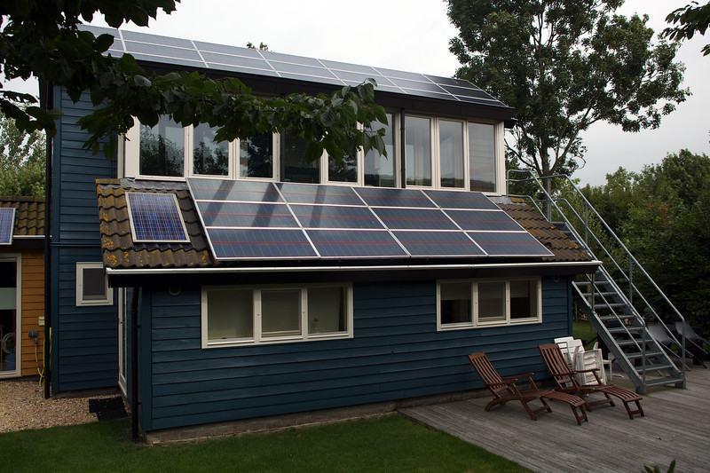 Zero carbon home in Stavoren, The Netherlands