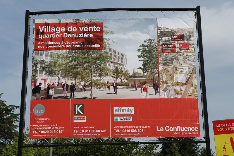 Ecocity being built at La Confluence, Lyon, France