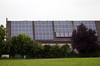 German farm building photovoltaic flat plate solar panels 110811 ©RLLord 8996 smg