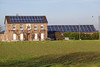 photovoltaic panels on farm house near Goch Germany 211110 ©RLLord 2841 smg