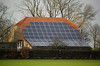 photovoltaic panels on farmhouse near Goch Germany 080112 ©RLLord 0292 smg