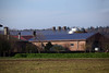 photovoltaic panels on farm buildings near Kleve Germany 211110 ©RLLord 2887 smg