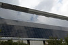 Thin-film photovoltaic panels at Riedel Recycling in Moers, Germany on 12 August 2011.<br /> More than 10,000 panels have a nominally power output of 837 kW.<br /> File No. 120811 9004<br /> ©RLLord<br /> <br /> sustainableguernsey@gmail.com