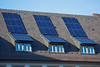 Photovoltaic panels on the Freiburg City Hall building, Germany