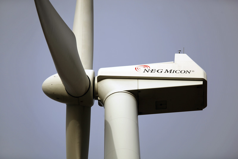 Germany near Goch NEG Micon wind turbine <br /> <br /> File No. 040112 9616<br /> <br /> ©RLLord<br /> sealord@me.com