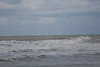 Offshore wind turbines viewed from a Schiermonnikoog beach