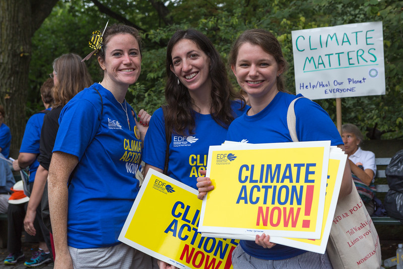 People's Climate March - Environmental Defense Fund