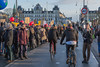 Copenhagen climate march on Dronning Louises Bro 291115 ©RLLord 8158 smg