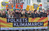 Copenhagen climate march Folkets Klimamarch banner 291115 ©RLLord  smg