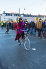 Copenhagen climate march on Dronning Louises Bro bicyclist 291115 ©RLLord 8177 smg