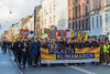 Copenhagen climate march Folkets klimamarch banner 291115 ©RLLord 8063 smg