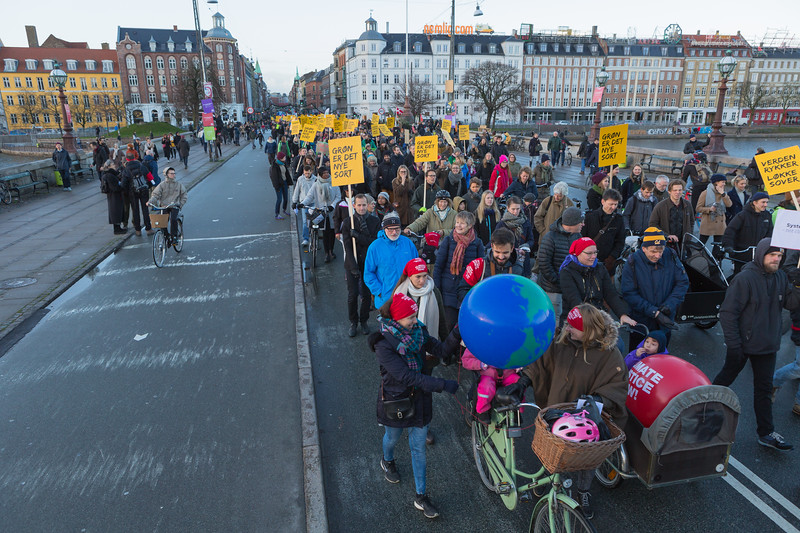 Copenhagen climate march on Dronning Louises Bro 291115 ©RLLord 8168 smg