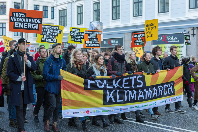Copenhagen climate march Folkets Klimamarch 291115 ©RLLord 8185 smg