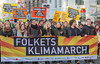 Copenhagen climate march Folkets Klimamarch banner Nørrebrogade 291115 ©RLLord  smg