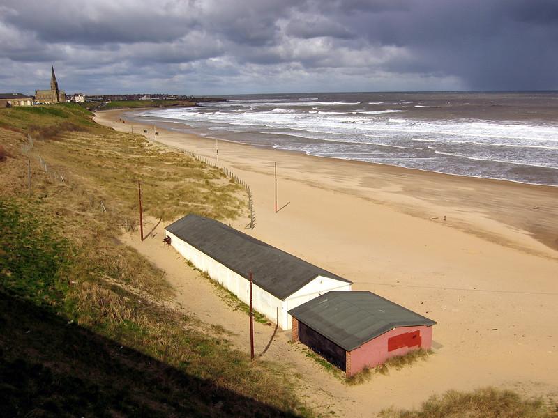 Tynemouth Long Sands beach 190307 7366 smg