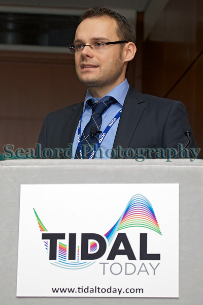 Tiday Today conference Frank Biskup Voith Hydro Ocean Current Tech 261113 ©RLLord 5221 v smg