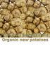 Organic new potatoes sign smg