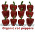 organic red peppers sign smg