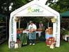 GCAN stall Farmers market customer 140608 4985 RLLord smg