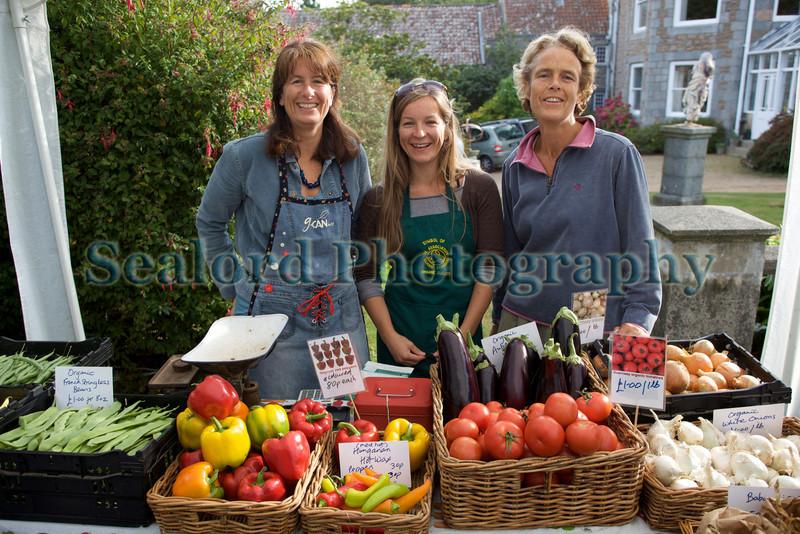 G-CAN stall sausmarez manor farmers' market 050909