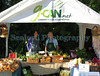 The Guernsey Climate Action Network (G-CAN) stall set-up at the Sausmarez Manor farmers' market on Saturday, 20 September 2008.  G-CAN sells Guernsey Organic Growers vegetables and freshly baked Senner's bread.<br /> File No. 200908 787 <br /> RLLord<br /> fishinfo@guernsey.net