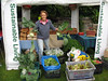 Guernsey Climate Action Network (G-CAN) Sausmarez Manor Farmers' Market stall set up on 24 May 2008.<br /> File No. 240508 4668<br /> Copyright©RLLord 2008 All Rights Reserved<br /> fishinfo@guernsey.net