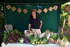 Zoe Ash selling vegetables at the Sausmarez Manor Farmers' Market