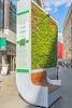 CityTree absorbs air pollution in London
