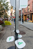Union Square Partnership provide solar powered USB street charger