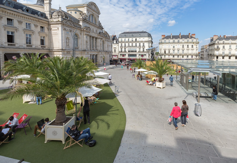 Place du Raillement temporary garden Angers France 180815 ©RLLord 2748 smg