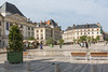 Orleans Place du Martroi pedestrianised square France 170815 ©RLLord 2430 smg