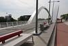 Raymond Barre bridge across the Rhone in Lyon, France
