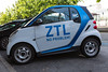 A Smart Car2Go in Turin, Italy