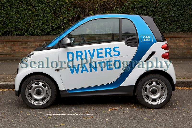 Car2Go Smart car Canonbury 230813 ©RLLord 1427 smg