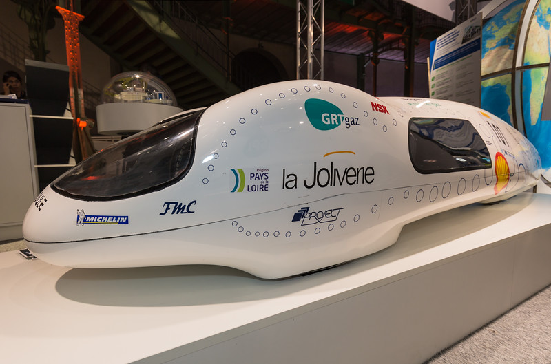 La Joliverie fuel efficiency record holder Climate Solutions COP 21 091215 ©RLLord  smg