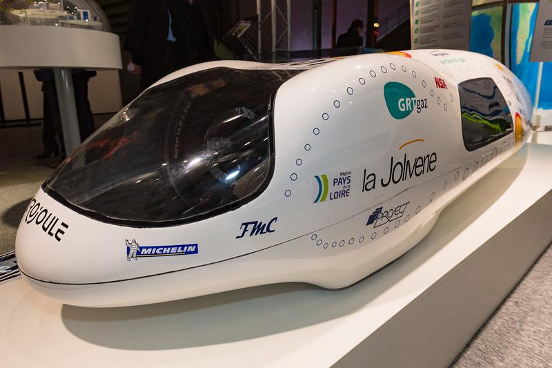 La Joliverie fuel efficiency record holder Nantes 091215 ©RLLord 0213 smg