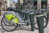 Velo+ bicycle rental station in Orleans, France