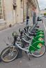 VelOstan Lib bicycle rental station, Nancy, France